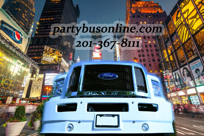 Party Bus in NYC by Party Bus Online