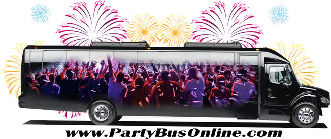 Party Bus Rental in Philadelphia by Party Bus Online
