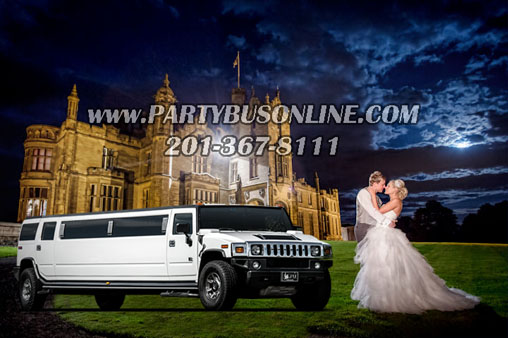 Party Bus for Wedding by Party Bus Online